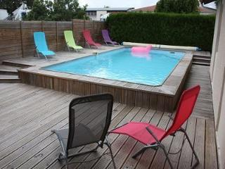 Dax-house 9 Pers-pool-BBQ-wood deck