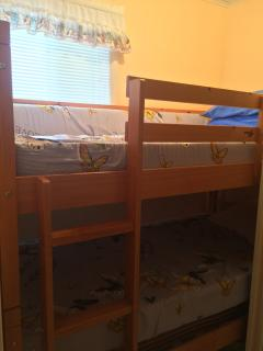 Bedroom #4 with bunk beds