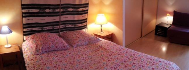 Chambre lit double et lit supplémentaire