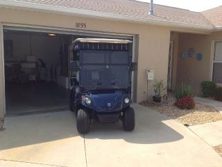 Beautiful 2 bedroom villa with gas golf cart