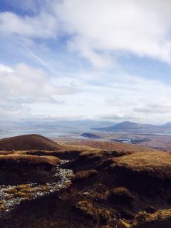 Minaun heights back towards Mayo