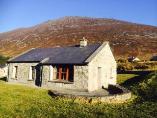 Heaven on a hillside, cosy stone cottage, Achill