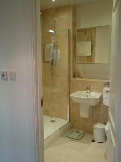 The shower room ensuite to the main bedroom