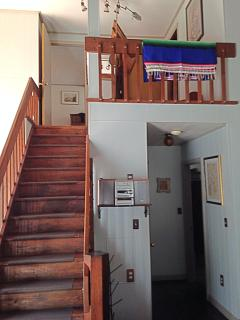 Stairs to the upstairs bedrooms