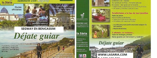 Reserva tu excursión en SEGWAY Benicassim