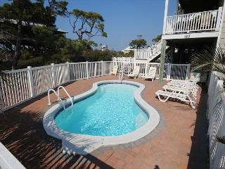 Gulf View Home with Pool, Sunsets,Steps to Beach***05/21/16 $3150/wk, Cape San Blas