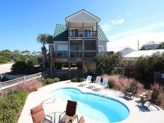 Gulf View Home with Pool, Unobstructed Views, Private**05/21/16 $3630/wk, Cape San Blas