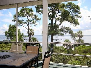 Bay Front Home with Hot Tub, Sunrise/Wildlife Viewing, Dock*05/21/16 $2210/wk, Cape San Blas
