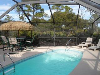 Tranquil Bay Front 5 Bed, 3 Bath Home, Screened-In Pool, Spa, Secluded, Dock, Cape San Blas