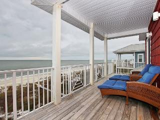 Beachfront N Cape 6 Bed, 5.5 Bath Home,4 Gulf Front Masters*05/21/16 $3900/wk, Cape San Blas