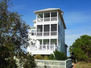 Gulf Front 4 Bed, 4 Bath Home, Gourmet Kitchen, Views**05/21/16 $4160/wk, Cape San Blas