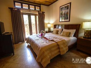 Master Bedroom Suite with King bed and Flat Screen TV