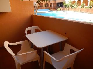 Apartamento con 2 terrazas y piscina comunitaria, El Medano