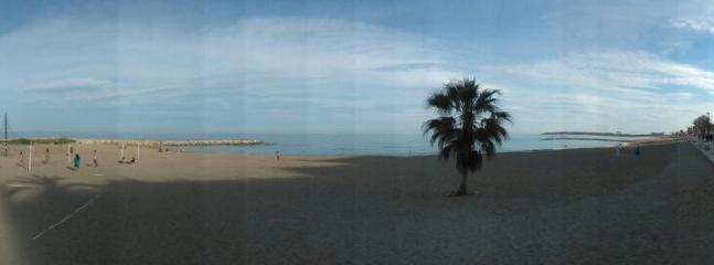 playa vinaros pueblo