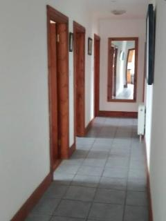 Bright spacious hallway