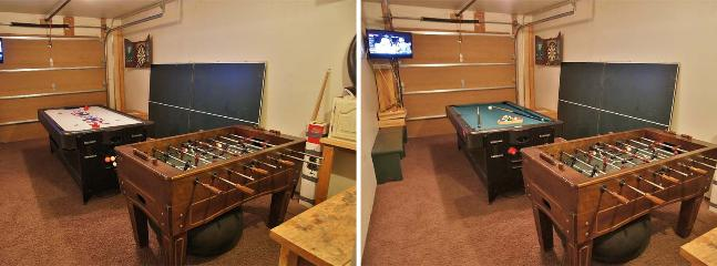 Heated Garage / Game Room - 3 in 1 Pool /Air Hockey / Ping Pong Table, Foos Ball