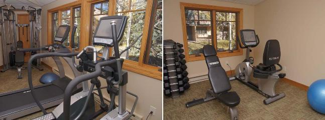 Air Conditioned Fitness Center with Machines, Free Weights, Bands, Balls, Mats, etc.