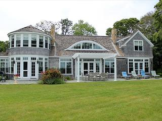 BEAUTIFUL WATERFRONT HOME OVERLOOKING VINEYARD HAVEN HARBOR WATERS, Vineyard Haven