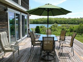 WONDERFUL, ATTRACTIVE WATERFRONT HOUSE LOCATED ON EDGARTOWN GREAT POND, Edgartown
