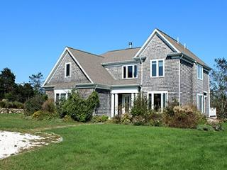 ENJOY SUNSETS & WATERVIEWS FROM THIS BEAUTIFUL AQUINNAH HOUSE & GUEST HOUSE