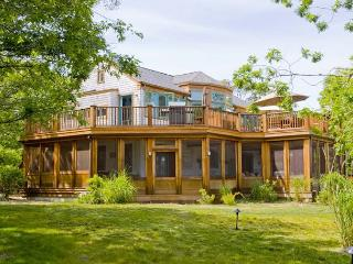 A PIECE OF HEAVEN WITH DISTANT PANORAMIC VIEWS OF ATLANTIC, Edgartown