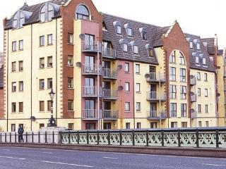 Riverside apartment with balcony, Belfast