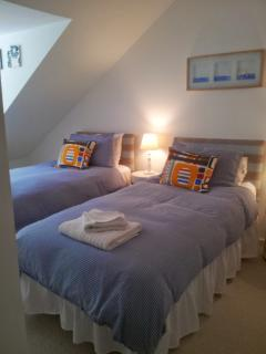 Twin Bedroom 2nd Floor - can be made up as a double upon request