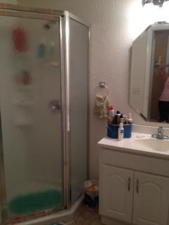 Bathroom with Nice size shower