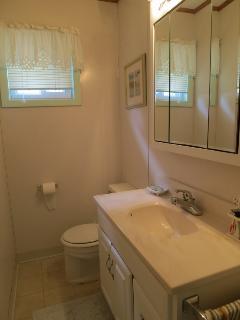 Full bathroom closet