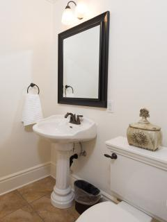Downstairs Powder Room Bath