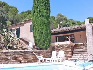 Villa familiale vue mer piscine 12pers-Ste Maxime
