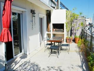BEST RECOLETA 2 bedroom 4-5 PAX terrace + BBQ