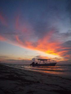 Sunrise in Puerto Morelos
