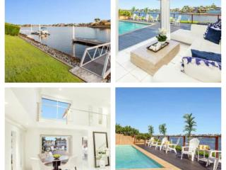 Bella Volante Waterfront 6 Bedroom House + Cinema, Mermaid Waters