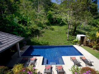 Inviting Private 10 x 5 metre swimming pool, sun deck and outdoor dining sala and BBQ