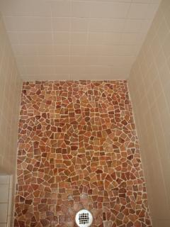 Tiles in shower