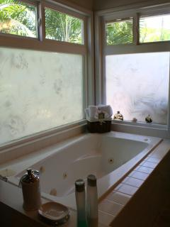 Jacuzzi Tub in Master Bedroom