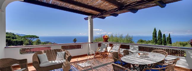 Terrace on the top floor.