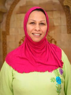 Zakia, la cuisinière