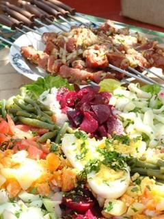 Salades et grillades