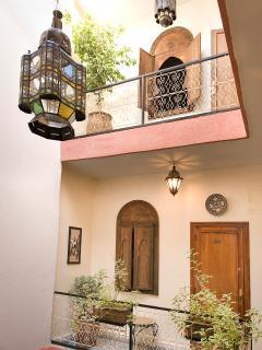 1er étage patio, puits de lumière