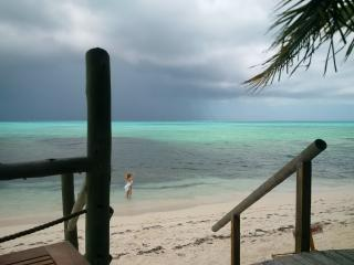 Turquoise waters of TCI