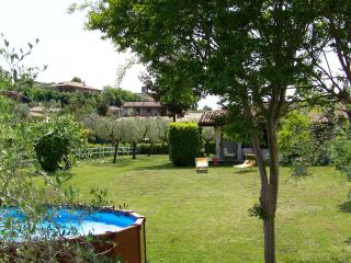 Villa with garden, lake view and private pool