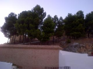 House is next to walls of Alcazabar