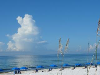 View of Ocean from pool area at island Princes FWB, FL