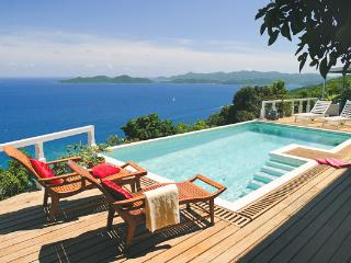 Unforgettable blue ocean views abound from this exquisite villa. MAT TOA, Road Town