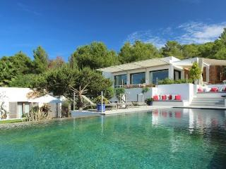 6 bedroom Villa in Cala Tarida, Balearic Islands, Spain : ref 5047406