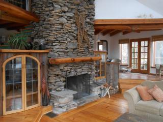 Monster fireplace