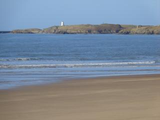 Newborough Beach looking over to Llanddwyn Island