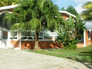 Casa de Loma has three bedrooms, two baths, ample parking in a pleasant and convenient setting.